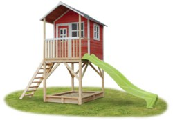 702-50072300 EXIT Spielhaus Loft 700 Rot mi