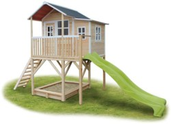 702-50082100 EXIT Spielhaus Loft 750 Natur