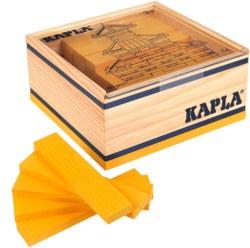 810-C40J Kapla 40er Box Gelb Kapla Holz