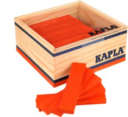 810-C40O Kapla 40er Box Orange Kapla Ho