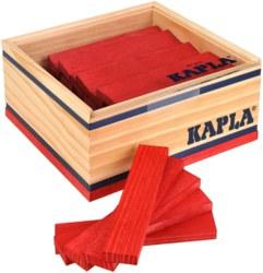 810-C40R Kapla 40er Box Rot Kapla Holzb
