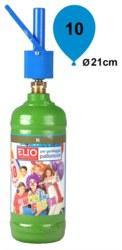 911-10-0075S Ballongas 10er Einwegflasche f