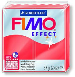 954-8020204 FIMO® effect transparent rot O