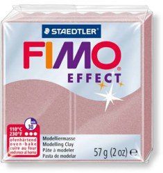 954-8020207 FIMO® effect Pearl Rose Ofenhä