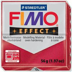 954-802028 FIMO® effect metallic rubinrot