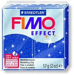954-8020302 FIMO® effect glitter blau Ofen