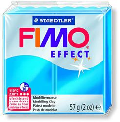954-8020374 FIMO® effect transparent blau