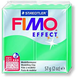 954-8020504 FIMO® effect transparent grün