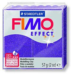 954-8020602 FIMO® effect glitter lila Ofen