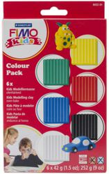 954-803201 FIMO® Set Basic, 6 Blöcke Mo