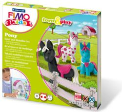 954-803408LY FIMO® kids form&play Set Pony