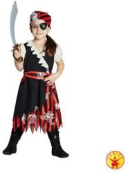 961-12847152 Kostüm Piratin Größe 152 Rubie