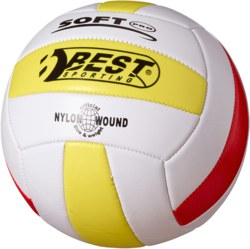 990-10130 Volleyball weiß/gelb/rot  BEST