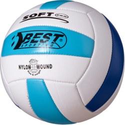 990-10131 Volleyball weiß/hellblau/blau