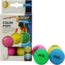 990-23106 Tischtennisbälle Colour Pops
