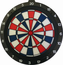 990-62106 Safety Dartboard, 46 cm  Best