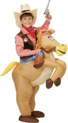 991-75501 Aufblasbares Western-Pferd Kos