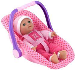 996-52028550 Babypuppe Isabella mit Autosit