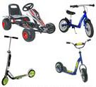 Scooter & Roller & Laufräder & Go Kart