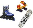 Inliner & Rollschuh & Skatboard & Waveboard