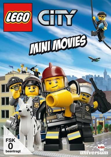 DVD LEGO City Mini Movies Universum Film DVD, Kurzfilme, Lego City - Mini Movies