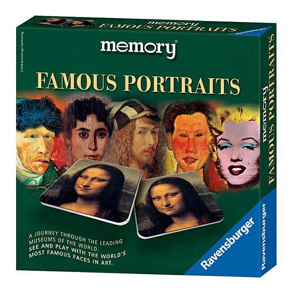 Famous Portraits memory von Ravensburger