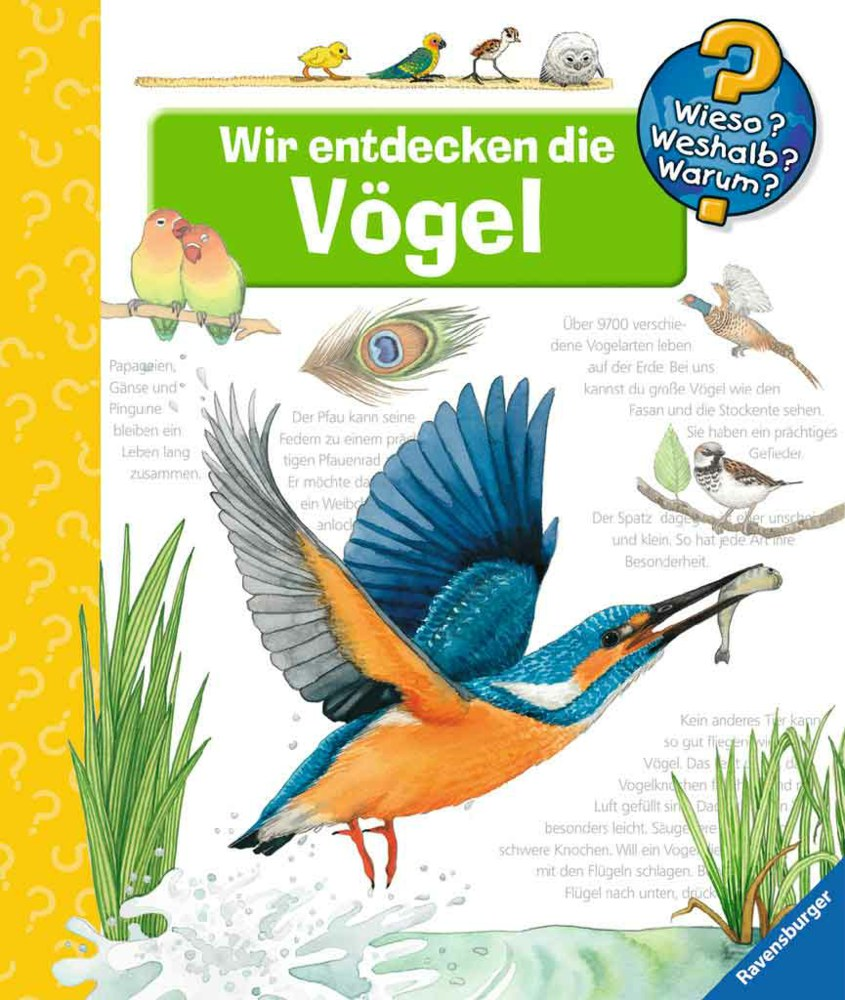 Ravensburger Wir entdecken die Vögel - Wieso? Weshalb? Warum? Bd. 51