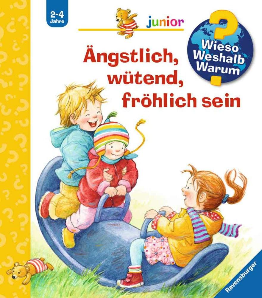 Ravensburger Wieso? Weshalb? Warum? - Ängstlich, wütend, fröhlich sein - Junior Bd. 32