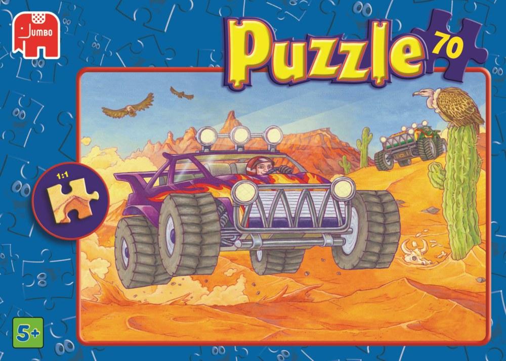 Ritter/Fahrzeuge/Roboter/Raumfahrt Puzzle-Set 4x70 Teile von Jumbo