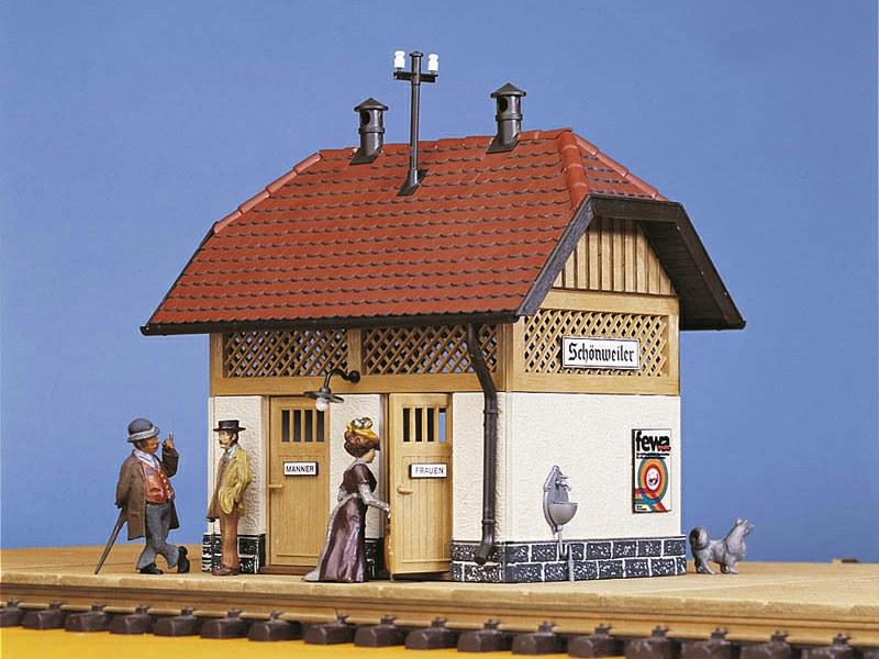 Toilettenhäuschen Pola Bahnhöfe Spur Pola G, Separates Toilettenhäuschen, passend zum Bahnhof »Schönweiler« 330901