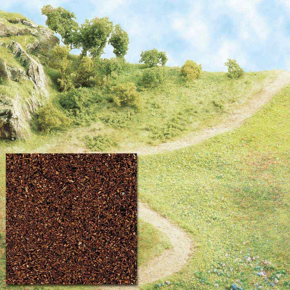 Streupulver braun Busch - Spur H0/N/Z/TT Anlagenbau Felder, Wiesen, Wege