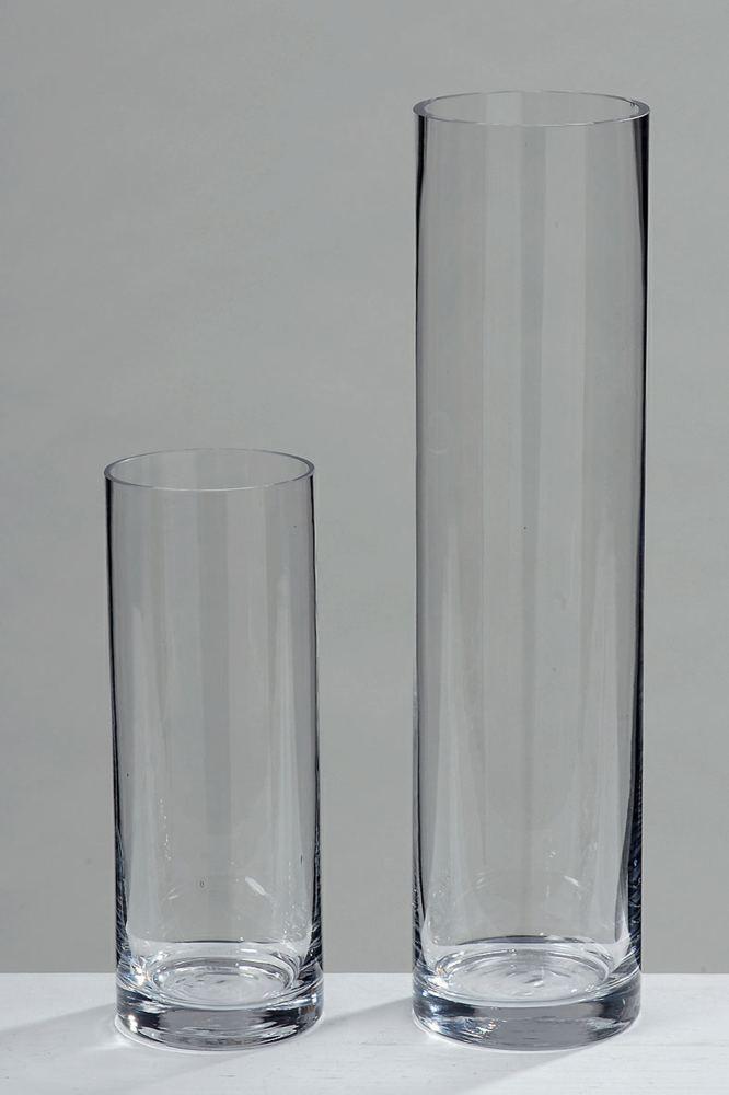 Vase Empire, 40x10cm Boltze Geschenkartikel, Glas